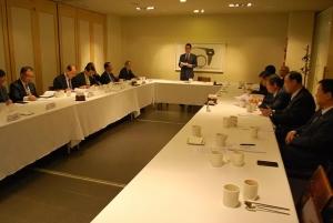 17일 오전 8시 서울 중구 정동 달개비식당에서 한교총 상임회장단 회의가 열린 모습.