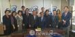 20일 한기총 회의실에서 위원장 임명장 수여후 대표회장 엄기호목사와 단체사진을 찍고있다.