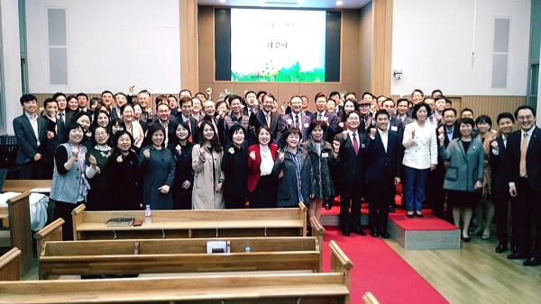 최근 서소문교회에서는 금융기관연합선교회가 주최하고 한국은행선교회 주관으로 '2018(제30회) 금융기관연합 부활절 자선찬양예배'가 열렸다.