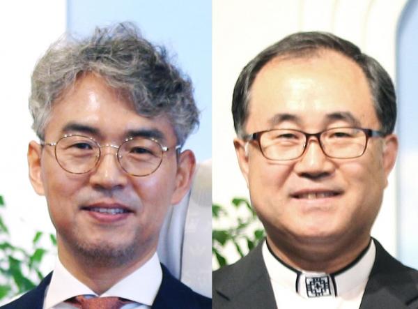 조경래 목사(왼쪽)와 최 홍 목사