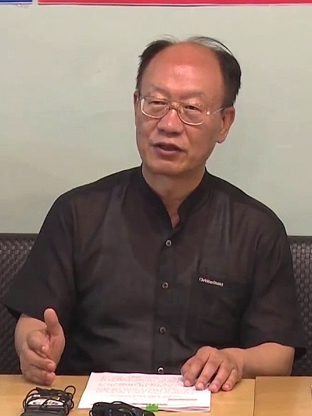 교개협 회장 장학정 장로.