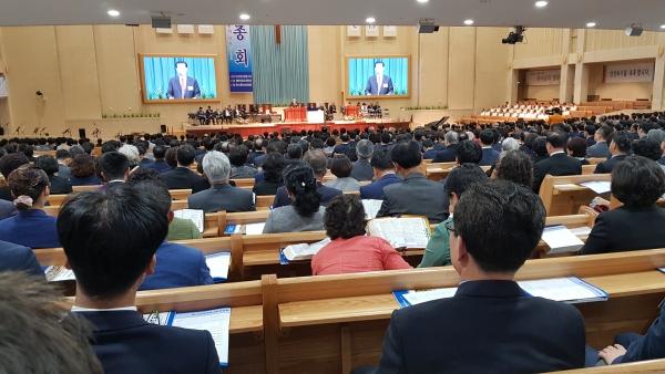 예하성 제67차 정기총회가 21일 은혜와진리교회에서 열렸다.