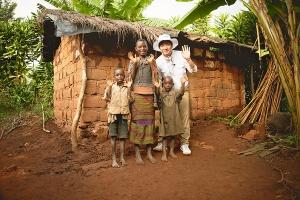 [사진제공=월드비전] 월드비전, 배우 이상엽과 아프리카 부룬디 방문 2