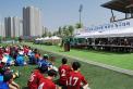 한국교회총연합이 주최한 2018 한국교회 목회자 축구대회가 24일 하남시 종합운동장에서 열렸다. 할렐루야조와 임마누엘조로 나눠 진행된 이번 대회에는 모두 11개 교단에서 참여했다.