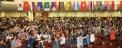 KWMA 부산 세계선교대회에서 뜨겁게 기도하고 있는 선교사들의 모습.