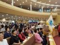 (사)한국장로교총연합회 여성위원회(위원장 김순미 장로) 주관으로 개최된 제2회 한국장로교여성대회가 6월 22일 치유하는 교회(강서구 화곡동)에서 한국장로교여성지도자 1,000여명이 참여한 가운데 성황리에 마무리 됐다.