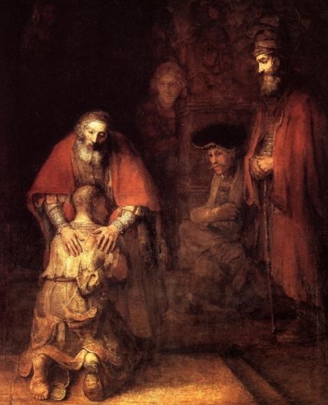 돌아온 탕자, 렘브란트(Rembrandt1606-1669)