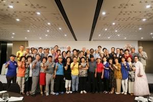 생명나눔 50주년 행사에 참석한 순수 신장기증인들