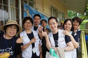 광림교회 의료선교회도 7월 26~30일 몽골, 필리핀, 라오스에서 의료선교회를 진행했다.