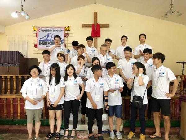 광림의료선교회 필리핀 단기의료선교 모습.