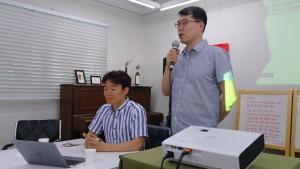 북한인권정의연대 이광백 토크콘서트