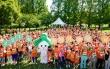 2018 장기기증의 날 초록리본걷기대회에 참가한 700명의 모습