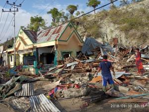 [사진제공=월드비전] 인도네시아 지진 쓰나미 피해상황2
