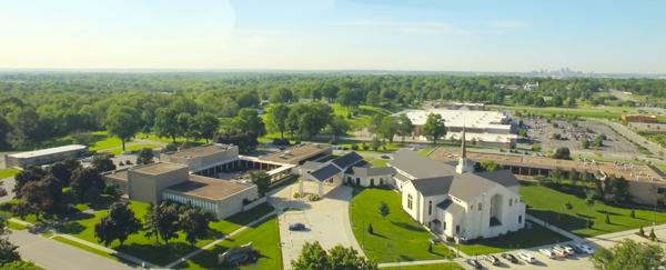 미주리 주 캔사스시티에 있는 미드웨스턴침례신학대학원의 전경