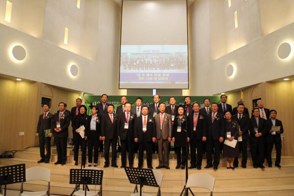 (사)한국장로교총연합회 제10회 장로교의 날 행사를 마치고.