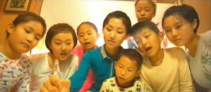 북한 영화 '우리 집 이야기'의 한 장면.