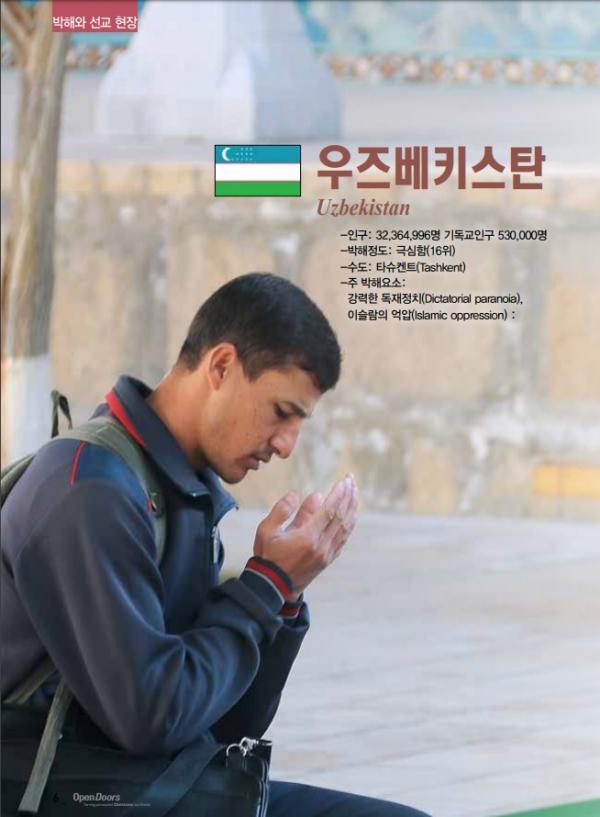 우즈베키스탄 박해상황