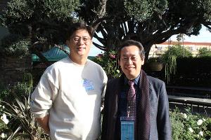 윤대혁 목사(좌)와 설동욱 목사(우)