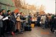 1993년 처음 드렸던 거리성탄예배 때의 모습.