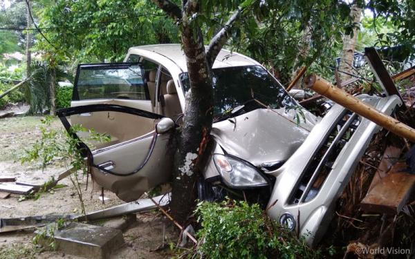 [사진제공=월드비전] 쓰나미 피해를 입은 인도네시아 반텐 지역의 모습4