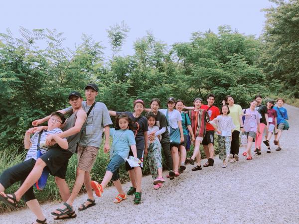새이레기독학교 학생들의 모습.
