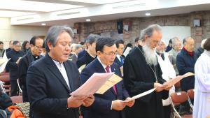 NCCK 신년하례회가 2일 낮 한국교회100주년기념관에서 열렸다.