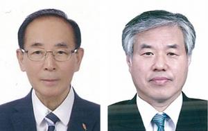왼쪽이 김한식 목사, 오른쪽이 전광훈 목사.