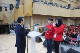 임승안총장과 대표 학생들 캠프수칙 선서01