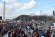 워싱턴DC에서 열린 낙태 반대 연례 시위에 수천 명의 참가자들이 참가했다