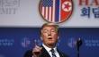 제2차 북미정상회담 결렬 후 기자회견에 임하고 있는 트럼프 대통령.
