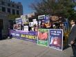 낙태죄폐지반대국민연합(낙폐반연) 외 40개 단체들이 8일 낮 헌법재판소 앞에서 '낙태죄 폐지 반대 기자회견'을 개최했다.