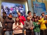 서광성결교회가 제주도 베데스다복지공동체 발달장애 아이들과 교사 등 23명을 초청, 성도들과 함께 예배를 드렸다. ⓒ 한국성결신문 제공