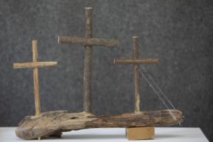 이천식 나무 십자가