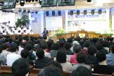예장성서총회 '예수부활 특별대성회'가 세광중앙교회에서 열렸다.