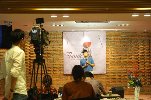 조성모 CCM 앨범 발매 기념 기자회견