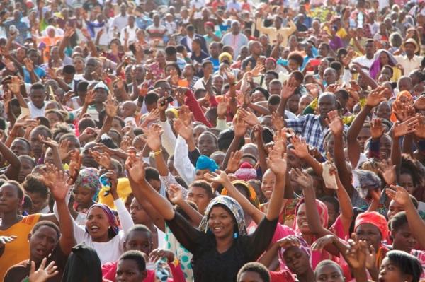 역사상 최대 규모의 기독교 전도 운동, 2020년 아프리카에서 열려