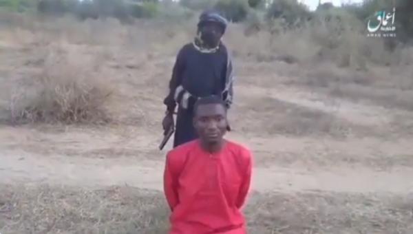 IS 22살 나이지리아 대학생 사살