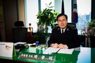 박종덕 구세군 사령관실