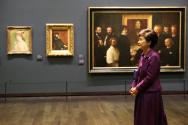 오르세미술관을 방문한 박근혜 대통령