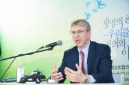 WCC 울라프 퓍세 트베이트 총무 기자회견