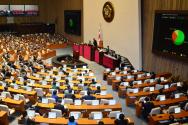 추경예산안 130인 찬성으로 본회의 통과