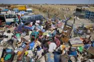남수단 난민 수용소