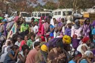 남수단 여성 난민들