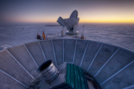 남극의 관측장비 '바이셉2'