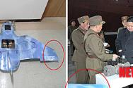 무인기 추정 물체 북한 TV에 등장