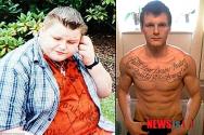 70kg 감량한 영국 남성