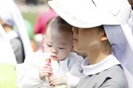 낙태반대,생명대행진,수녀,아이