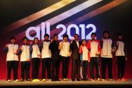 런던 올림픽 승리 다짐하는 국가대표 선수단들