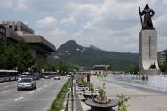 광화문광장 사라진 택시