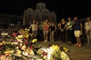 말레이시아 여객기 피격 희생자 추모